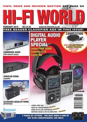 Hi Fi World February 2016 : Free Download, Borrow, and