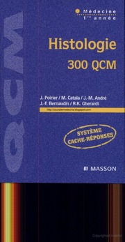 histologie 300 qcm