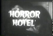 Image result for horror hotel title screen