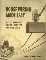 Marvelous House Wiring Made Easy A Practical Guide For The Electrician And Wiring Cloud Brecesaoduqqnet