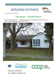 Housing Futures Vol 4 Issue 3 August 2014