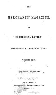 Merchant's Magazine, 1844 (vol. 10)
