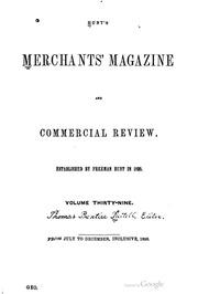 Merchant's Magazine, 1858 (vol. 39)