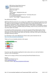 IBM Sunsets Software Brand Logos 2015 Nov 25