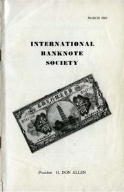 International Bank Note Society Journal (March 1962) (pg. 3)