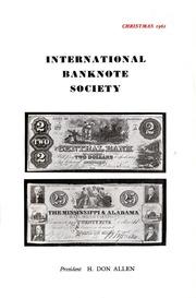 International Bank Note Society Journal (Christmas 1962) (pg. 5)