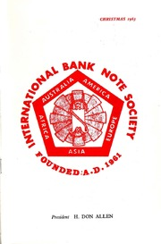 International Bank Note Society Journal (Christmas 1963) (pg. 4)