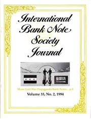 International Bank Note Society Journal (Issue 2, 1994) (pg. 2)