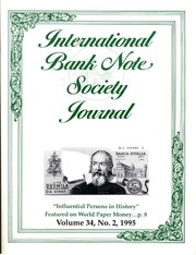 International Bank Note Society Journal (Issue 2, 1995) (pg. 44)