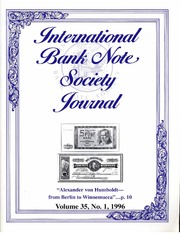International Bank Note Society Journal (Issue 1, 1996) (pg. 6)