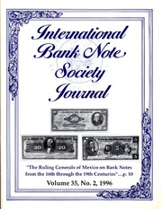 International Bank Note Society Journal (Issue 2, 1996) (pg. 6)