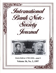 International Bank Note Society Journal (Issue 3, 1997) (pg. 2)