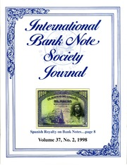 International Bank Note Society Journal (Issue 2, 1998) (pg. 2)