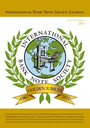 International Bank Note Society Journal (Issue 1, 2011) (pg. 2)