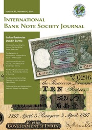International Bank Note Society Journal (Issue 4, 2014) (pg. 33)