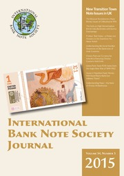 International Bank Note Society Journal (Issue 3, 2015) (pg. 64)