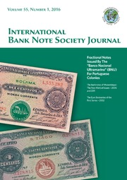 International Bank Note Society Journal (Issue 1, 2016) (pg. 2)