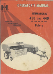 Gerard arthus farming construction appliance and automotive ihcmodels430440baler1084955r1 fandeluxe Images