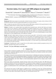 Secretor status, Fut 2 gene and ABH antigens in urogenital