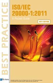 Pdf] iso/iec 20000:2011 a pocket guide read full ebook video.