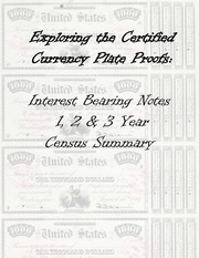 Interest Bearing Notes 1, 2, & 3 Year Census Summary