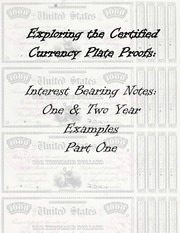 Interest Bearing Notes: One & Two Year Examples (part 1 of 2)