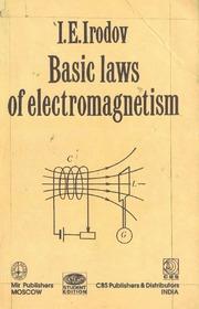 Basic laws of electromagnetism irodov