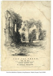 The ivy green / written by Chas. Dickens ; composed by W. Lovell Phillips