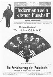 Jedermann Sein Eigner Fussball 1919