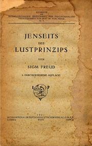 Jenseits des Lustprinzips 2.Aufl.