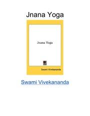 Jnana Yoga Swami Vivekananda Book Swami Vivekananda Free Download Borrow And Streaming Internet Archive