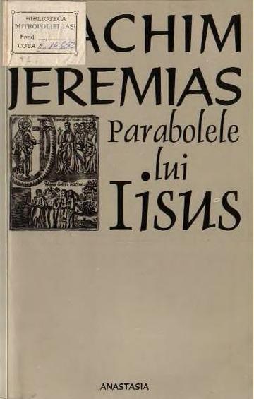 Joachim Jeremias