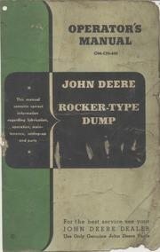 Gerard arthus john deere company manual collection free texts johndeererockertypedump1950 fandeluxe Image collections