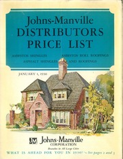 johns manville corporation company profile Check the manville johns corporation company profile in linden, nj find the latest business information using the d&b business directory at dandbcom.