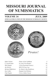 Missouri Journal of Numismatics, Vol. 34