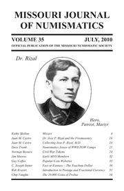 Missouri Journal of Numismatics, Vol. 35