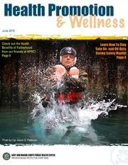 Health Promotion and Wellness June 2016
