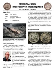 Central Ohio Numismatic Assocation [June 2018]