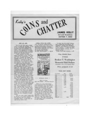 Kelly's Coins & Chatter [first trial issue]