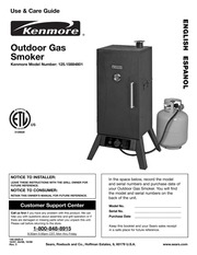 kenmore 125 15884801 smoker user manual kenmore free download rh archive org Brinkmann Electric Smoker Sears Smoker