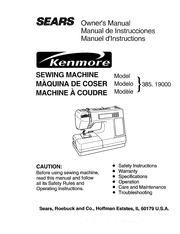 free pdf kenmore sewing machine manual