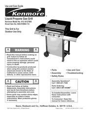 kenmore 146 1613211 gas grill user manual kenmore free
