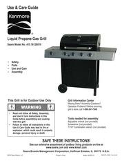 kenmore 415 1613511 gas grill user manual kenmore free