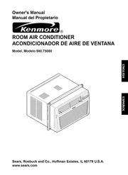 kenmore c100 air conditioner manual