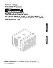kenmore 580 72089 air conditioner user manual kenmore free rh archive org Kenmore Air Conditioner Problems Kenmore Room Air Conditioner Model 580.75050