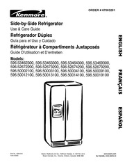 kenmore refrigerator model 106 manual