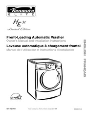 kenmore energy he3t washer user manual kenmore free download rh archive org manual for kenmore washer user manual for kenmore washer