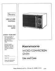 kenmore microwave oven microwave oven user manual kenmore free rh archive org kenmore elite microwave convection oven user manual Kenmore Microwave Oven Combination