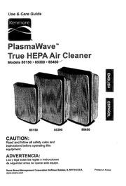 Kenmore Plasmawave 85150 Air Cleaner User Manual Kenmore