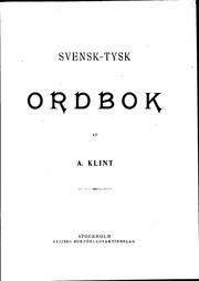 svenska ordbok